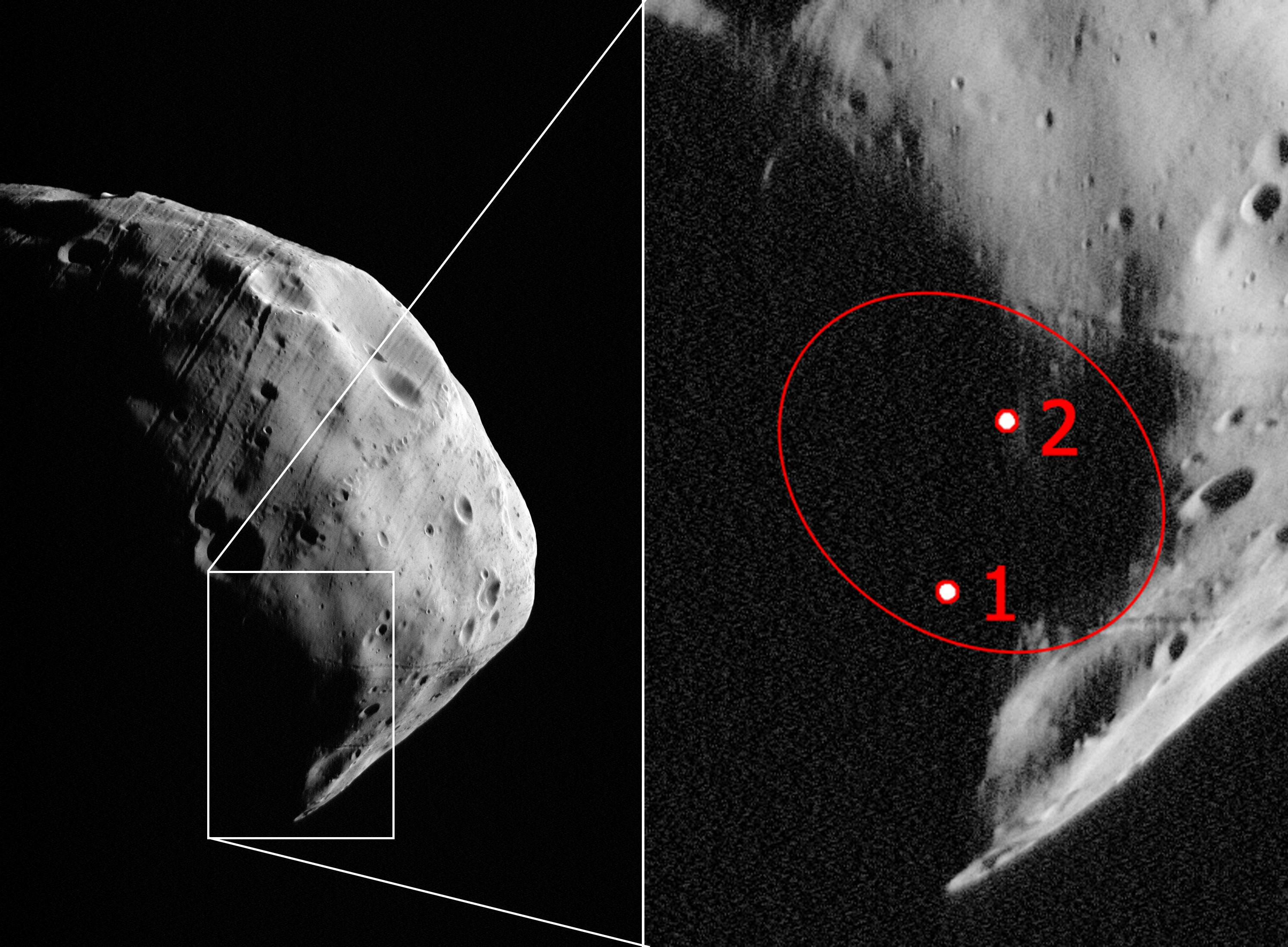 HRSC Image Series #401 - Phobos Flyby (Mars Express Orbit ...