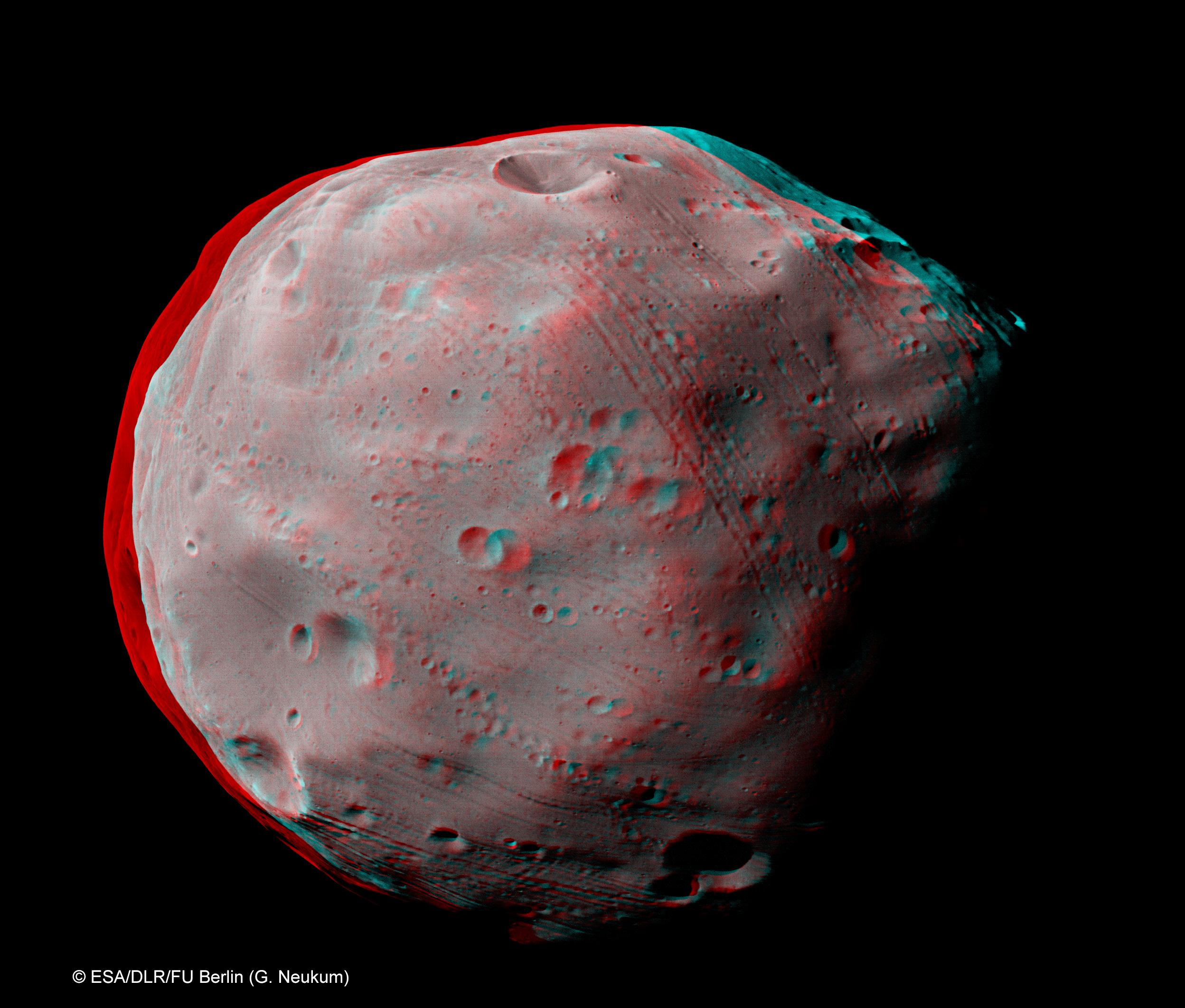 HRSC Image Series #460 - Phobos Flyby Special Release (Mars